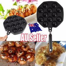 12 holes Takoyaki Pan octopus maker grill tray mold pan PANCAKE PAN with S S lid