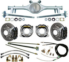 CURRIE 64-66 GM A-BODY REAR END & WILWOOD DISC BRAKES,LINES,E-BRAKE CABLES,AXLES