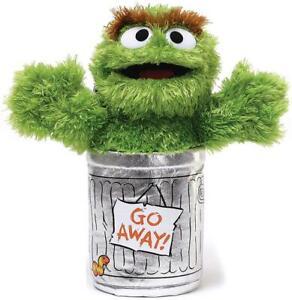 Sesame Street Oscar The Grouch Soft Toy Plush 25cm