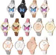 Limit Secret Garden Ladies Watch - Butterfly / Flower Dial - Strap / Mesh