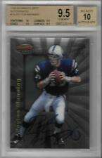 1998 Peyton Manning Bowman's Best Auto RC- BGS 9.5 Gem Mint w/all 9.5 & 10 subs