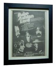 PAICE ASHTON LORD+Wonderland+POSTER+AD+FRAMED+ORIGINAL 1977+EXPRESS GLOBAL SHIP