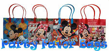 40 pc Mickey Minnie Mouse Party Favor Bags Candy Treat Birthday Durable Loot Bag