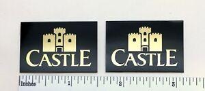 Castle Acoustics Speaker Badge Custom Made Aluminum Pair Free Shipping