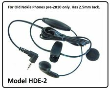 Nokia HDE-2 Handsfree Kit 2.5mm Mono Earphone for 3310 2610 3390 3560 6010 8800