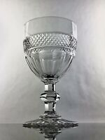 """St. Louis Crystal """"Trianon""""  Water Goblet  -Cristal France- VERY RARE! Mint"""