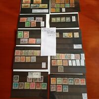 Cina Francobolli Lotto di 10 cartoncini MNH**e Linguellati-(CRT1)