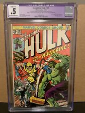 Incredible Hulk #181 CGC .5 Restored Marvel Comics 1st Wolverine