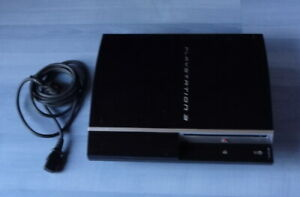 Sony Playstation 3 Konsole PS3 40GB CECHH04 FW 4.87 FUNKTIONIERT PERFEKT
