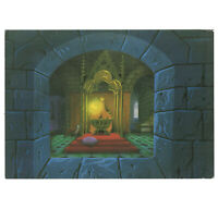 Disneyland Vintage Promotional Postcard Sleeping Beauty Gallery Event 1988