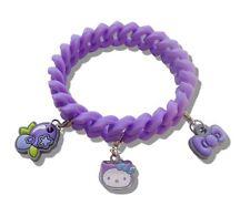 Hello Kitty Blueberry parfumée bracelet & 3 breloques cadeau bijoux