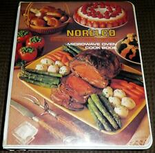 NORELCO Microwave Oven Cook Book VINTAGE 1977 HC 3-Ring-Binder style