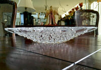 "Lalique Roscoff Centerpiece Bowl Authentic Mint Condition 14"" Retail $1,875"