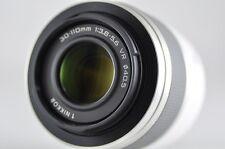 [Exc⁺⁺] Nikon 1 NIKKOR 30-110mm F3.8-5.6 VR White Lens For Nikon 1