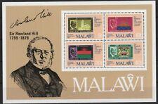 v5581 Malawi/ Postgeschichte-Sir Hill   MiNr Block 56 **