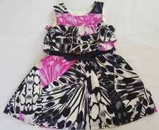 DKNY Baby Girl Dress Size 18 Months Party Dress Lined C2