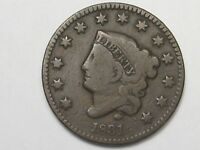 1831 US Coronet Head Large Cent.  #11