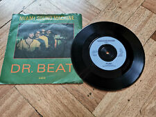 "dr.beat miami sound machine 7"" vinyl record"