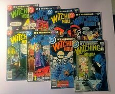 It's Midnight The Witching Hour #78 thru #85, Nice Mid to Upper Mid Grade Books