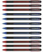 Uni-Ball SX-101 Jetstream Ballpoint Pens 0.7mm Ball Fine Blue & Red Pack 6 or 12