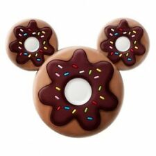 Disney NEW * Mickey Mouse Donut Magnet * PVC Scented Cup Cake NIP Doughnut