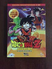 DRAGON BALL Z VOL 2 - 2 DVD CAPS 9 A 16 - 200 MIN - REMASTERIZADA SIN CENSURA