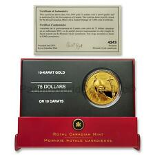 Canada 2005 Pope John Paul II $75 Gold Proof with Box & COA SKU#7765
