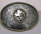 Texas Masonic Western Style Buckle