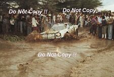Simo Lampinen Lancia Stratos HF Safari Rally 1977 Photograph