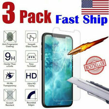 3-Pack For  iPhone 11 XR Tempered GLASS Screen Protector Bubble