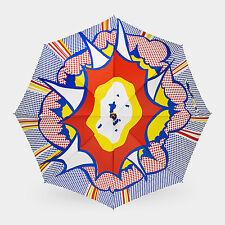 MoMA Explosion Umbrella Lichtenstein Collection Museum Exclusive AUTHENTIC