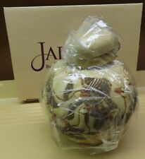 Harmony Kingdom Martin Perry Jardinia In a Gaggle Geese Jar with lid-new in box