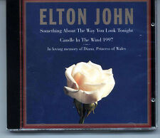 """Candle In The Wind"" Princess Diana cd & sheet music from Elton John's office"