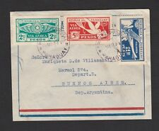 Paraguay 1931 airmail cover to Argentina