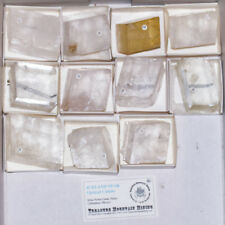 Wholesale Flat Clear ICELAND SPAR Crystal Cleavages Mexico 11 pieces@$7 for sale