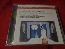 """CD NEUF """"Stravinsky : Pulcinella. symphonie en 3 mouvements 4 études"""""""