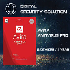 AVIRA  ANTIVIRUS PRO 2020 5PCs / 1 YEAR (Win, Mac) + Invoice + Proof of Genuine