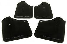 Rally Armor UR Black Mud Flaps Kit SILVER Logo for 02-07 WRX /STI /RS /2.5i