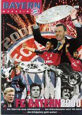 Bayern Magazin 8/51 , Bayern München - Arminia Bielefeld , 14.12.1999