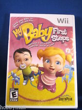 Nintendo Wii My Baby First Steps Video Game