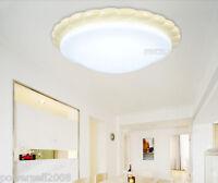 European Style Yellow Resin LED Diameter 38CM Height 11CM Bedroom Ceiling Light