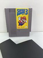 Super Mario Brothers Bros 3 Original NES Nintendo Game Tested Works! Authentic!!
