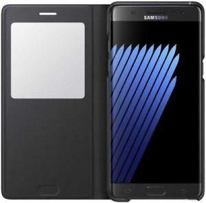 Genuine Samsung Galaxy Note 7 / FE S View Standing Flip Wallet CASE FAN EDITION