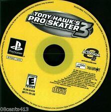 Tony Hawk's Pro Skater 3 (PlayStation PS1) Skate Through Realistic Settings!