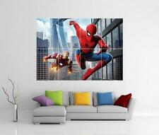 SPIDERMAN HOMECOMING MARVEL COMIC IRON MAN GIANT WALL ART PHOTO POSTER