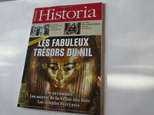 "HISTORIA 774    ""  fabuleux tresors du nil....""..."