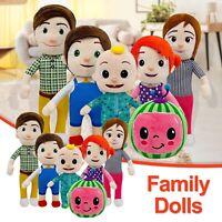 Cocomelon JJ Plush Toys Boy Soft Stuffed Doll Educational Kids Birthday Gift NEW