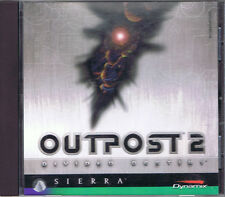 Outpost 2: Divided Destiny (PC, 1997, Sierra) With Manual Free USA Shipping!