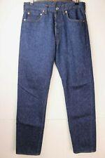 Vintage Mens Levis 501 Jeans 31.5 x 33 (Tag Size 32x36) USA 1980s Dark Denim