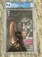 "Batman Three Jokers #1 ""Fish"" Cover CGC 9.6 FREE SHIPPING!"